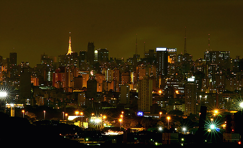 Sao Paulo a noite